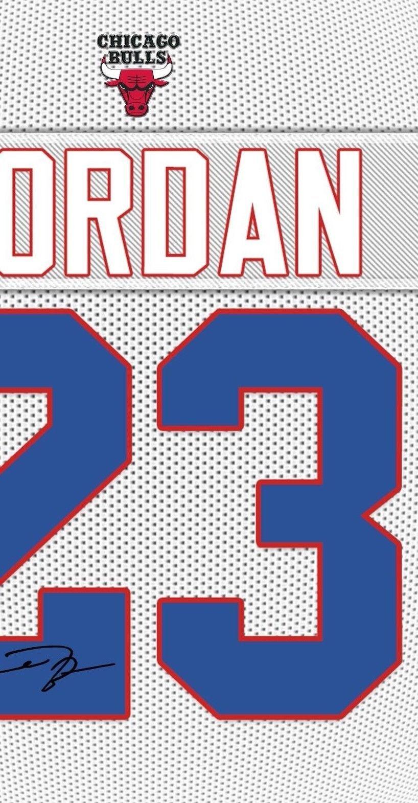 Michael Jordan Chicago Bulls signed autograph Framed 100% COTTON Canvas print