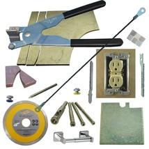 Tile & Glass Cutter Kit BK Curve Notch Cutout Jigsaw Rodsaw Grinder Blade Drills - $73.87