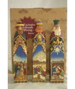 "Heartwood Creek Jim Shore 2006 Three Kings 3 Piece Nativity Set 10"" Mint... - $207.89"