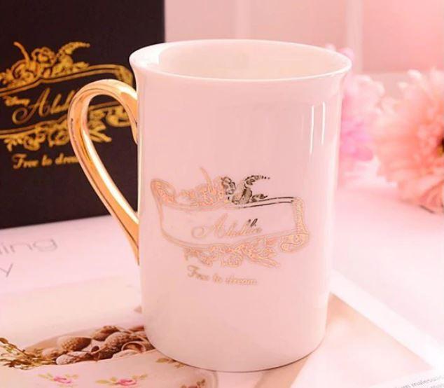 Aladdin The Little Mermaid Cute Cartoon Porcelain Coffee Milk Ceramic Mugs