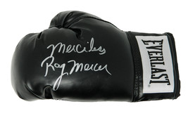 "Ray Mercer Signed Everlast Black Boxing Glove w/ ""Merciless"" - $80.00"