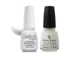 Gelaze Gel Polish & Nail Lacquer 0.5 oz x 2 Bottles - $14.99