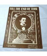 Vintage 1945 Til The End of Time based on Chopin's Polonaise Sheet Music  - $4.94