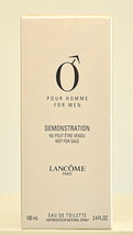 Lancome O pour Homme Eau de Toilette Edt 100ml 3.4 Fl. Oz. Spray Vintage... - $300.00