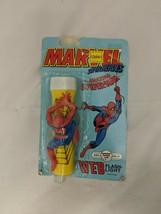 MARVEL SUPER HEROES THE AMAZING SPIDER-MAN WEB FLASH-LIGHT COMICS STUDIO... - $15.83