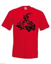 Mens T-Shirt Beautiful Butterfly, Butterflies Shirt, Nature Abstract Tshirt - $24.74