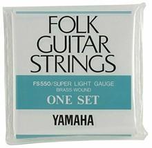 Yamaha YAMAHA Super Light gauge folk guitar for the set string FS550 - $38.27