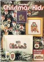 Charted Christmas Kids Cross Stitch Pattern Book - $6.99