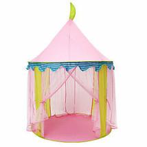 Protable Kids Pink Princess Tent Folding Children Toy House Kids Mosquit... - $47.52