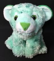 "Cuddlekins Mint Green Tiger Wild Republic Plush Toy Stuffed Animal Cat 12"" - $18.95"