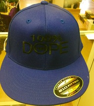 Clean and Sober 100% Dope Free Blue Hat  - $19.99