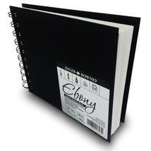 Daler Rowney - Ebony Artist's Hardback Sketch Book - 160gsm - 50 Wire Bo... - $12.99