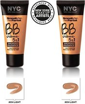 NYC New York Color BB Creme Foundation Bronze Light #004 LIGHT (1 fl oz) EACH... - $19.99