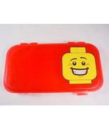 LEGO Minifigure Storage case red plastic - $14.64