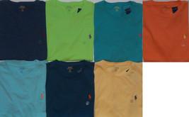 New Mens Polo Ralph Lauren Cotton Short Sleeve T-Shirt Tee MSRP $39.50 - $22.00