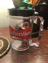 Budweiser Talking Frog Beer Mug Sound on Flip Cup Stein Drink Toad - $9.49