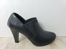 White Mt. Women Black Sugary Ankle Booties Boots Size 10 - £15.28 GBP