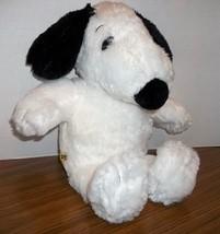 "2011 Snoopy 17"" Build A Bear Workshop Plush Stuffed Peanuts MUSICAL Ear Flipper - $15.00"