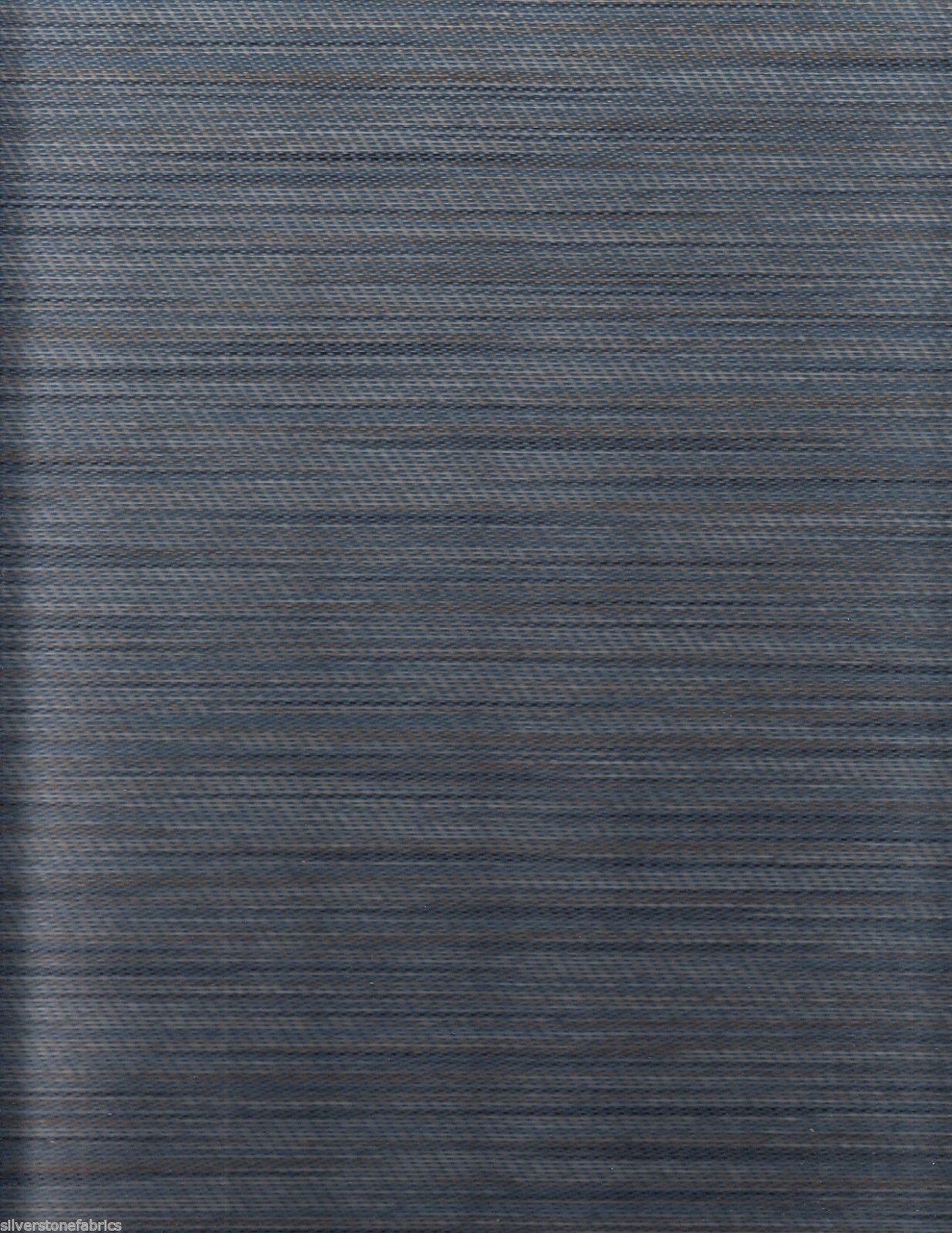 63.125 yds Maharam Upholstery Fabric Vary Striae MCM Astral Blue 465933-002 GM3