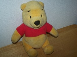 "Disney Fisher-Price 8.5"" Sitting Plush Stuffed Talking WINNIE THE POOH Bear - $14.99"