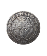 Hobo Nickel Coin Dollar Wolf Pack Dog King of the Wild Animal Art US Cas... - £6.83 GBP