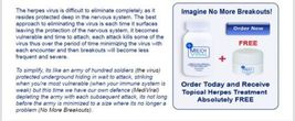 MediViral Breakthrough Herpes Topical Cream Treatment Cold Sores image 5