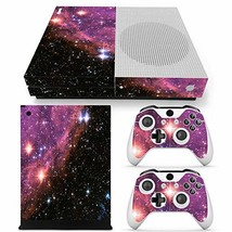 Skin Sticker Decal Cover for Xbox One Slim Console and 2 Controllers Dar... - $14.38