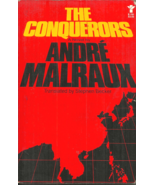 THE CONQUERORS Andre Malraux - Novel - 1925 CHINESE COMMUNISTS VS KUOMIN... - $6.00
