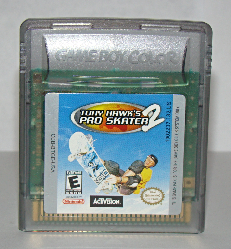 Primary image for Nintendo GAME BOY COLOR - TONY HAWK'S PRO SKATER 2 (Game Only)