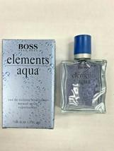 Boss Elements Aqua by Hugo Boss for Men 3.4 fl.oz /100 ml Eau De Toilette Spray. - $149.99
