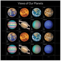 USPS 2016 Views of our Planets exclusive Collector's edition. Book of 16... - $14.99