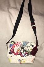 Marc Jacobs Embellished Collage Canvas Messenger / Shoulder / XBody Bag - ₹27,709.14 INR