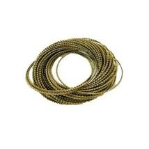 Vintage Multi Strand Bracelet Gold Tone - $24.75