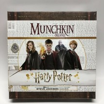 Harry Potter Munchkin Deluxe Edition Board Game Family Party USAopoly New - $31.67