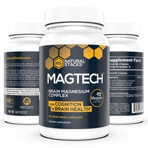 Natural Stacks: MagTech Magnesium Complex Promote Brain Health w/ Sleep ... - $96.99