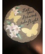 Spoontiques Let Your Dreams Take Flight Butterfly Stepping Stone - $21.78