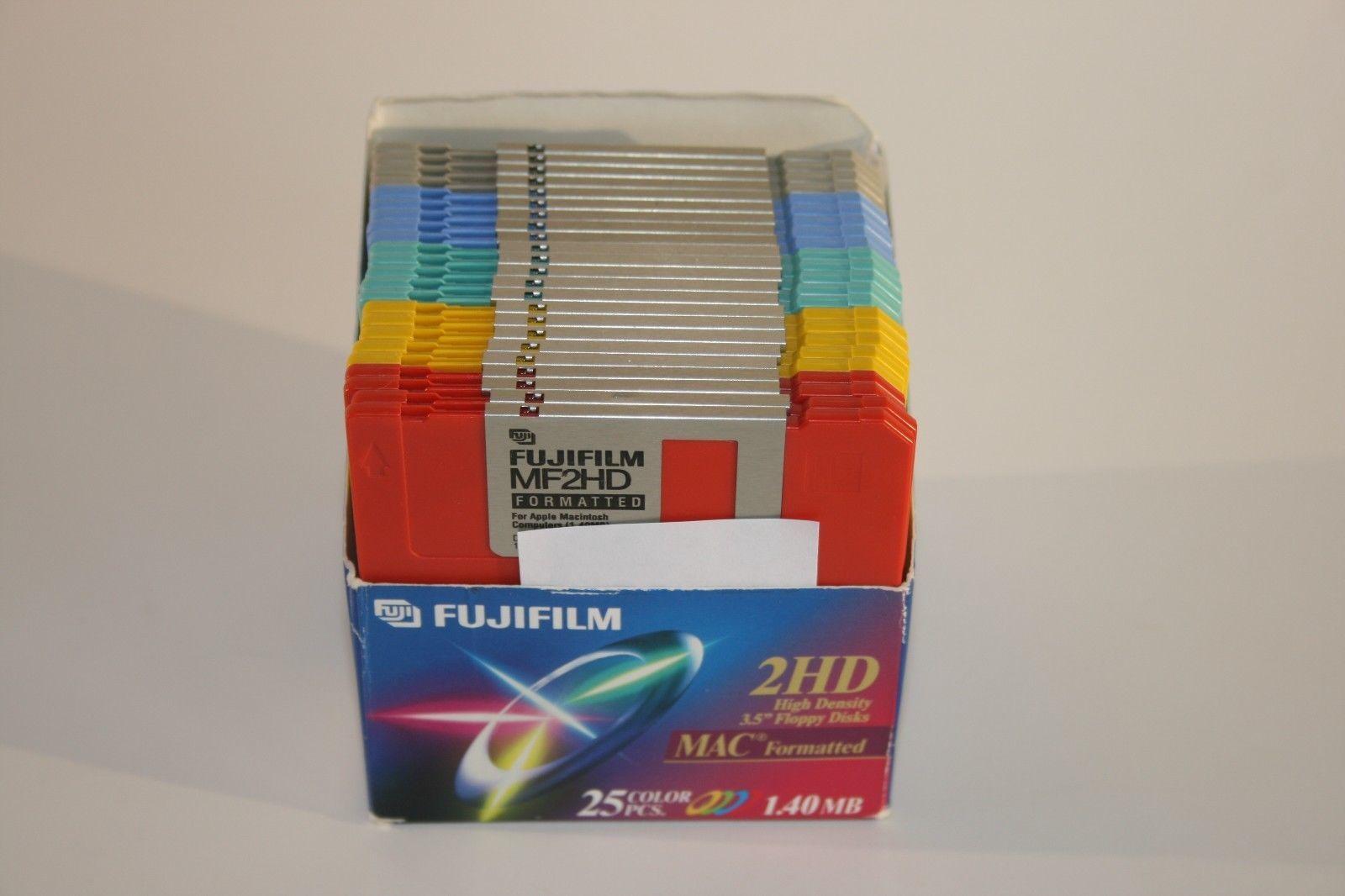 "Lot of 3 Fujifilm 10pk 3.5/"" Floppy Discs IBM Format MF2HD 30 Discs Total"