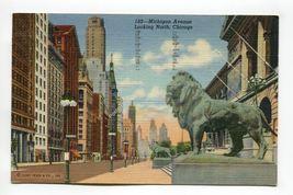 Michigan Avenue Looking North Chicago Illinois - $1.59