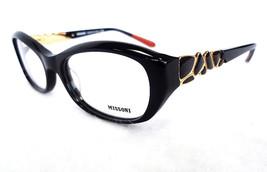 MISSONI Women's Optical Frame MI348V01 52-17-140 Black MADE IN ITALY - New! - $125.00