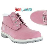 Timberland Women's Waterproof Nellie Chukka Shoes Boots 23308 Pink ALL S... - $179.99