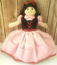 """Snow White Wicked Witch Cloth Puppet/Doll Fairytales Alive London 11"""" - $11.63"""
