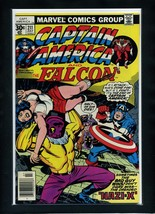 Captain America 211 Newsstand 1977 Marvel Jack Kirby Story/Art Comic Book - $10.88