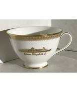 Cunard Liner QM2 Queen Mary 2 Coffee tea Cup Ritz Bone China 1987 Royal ... - $44.55