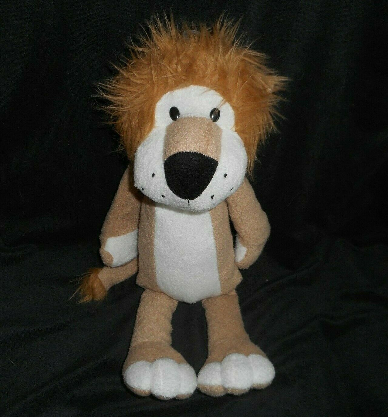 "Primary image for 16"" ANIMAL ADVENTURE 2014 SWEET SPROUTS BROWN TAN LION STUFFED PLUSH TOY LOVEY"
