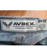 Mens Jeans Size 34X32 Avirex Blue A8/CJC  - $14.94