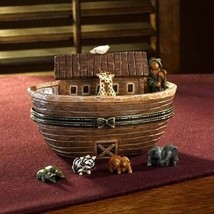 "Boyds Treasure Box ""Noah's Great Journey...Two By Two"" #4017973--NIB- 2009 - $69.99"