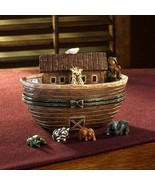 """Boyds Treasure Box """"NOAH'S GREAT JOURNEY...TWO BY TWO"""" #4017973--NIB- 2009 - $69.99"""