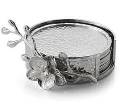 Michael Aram White Orchid Drink Coasters Set/6 - $108.90