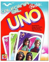 Mattel CALIFORNIA GIRL BARBIE UNO Card Game - $35.00