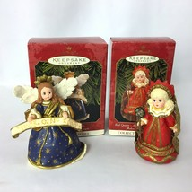 Madame Alexander Red Queen Hallmark Keepsake Ornaments & Angel of the Na... - $19.99
